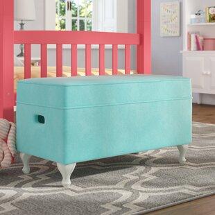 Viv + Rae Leslie Upholstered Storage Bench