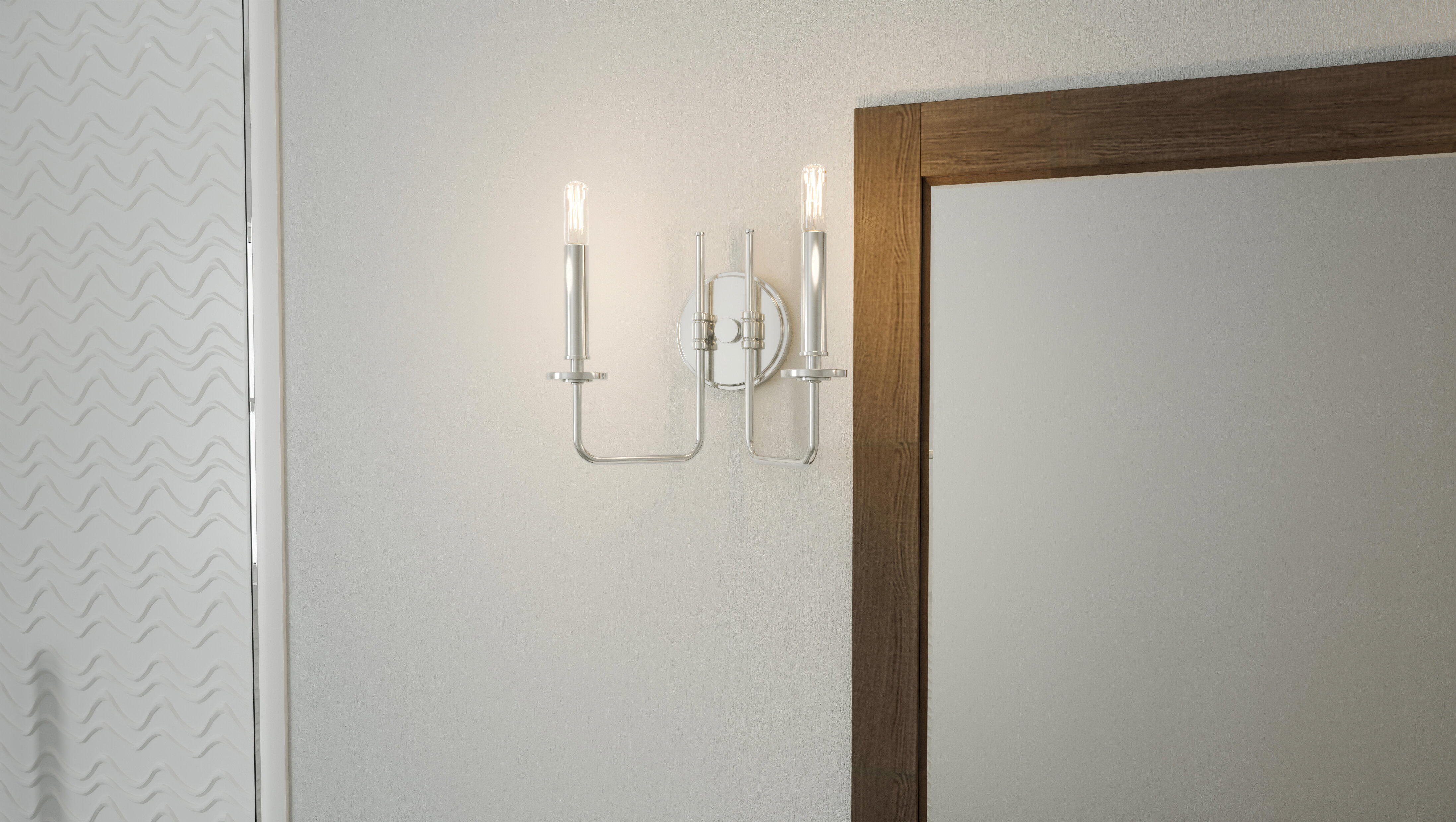 2 Light Mid Century Modern Bathroom Vanity Lighting You Ll Love In 2021 Wayfair
