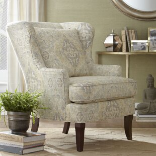 Halvar Wingback Chair by B..