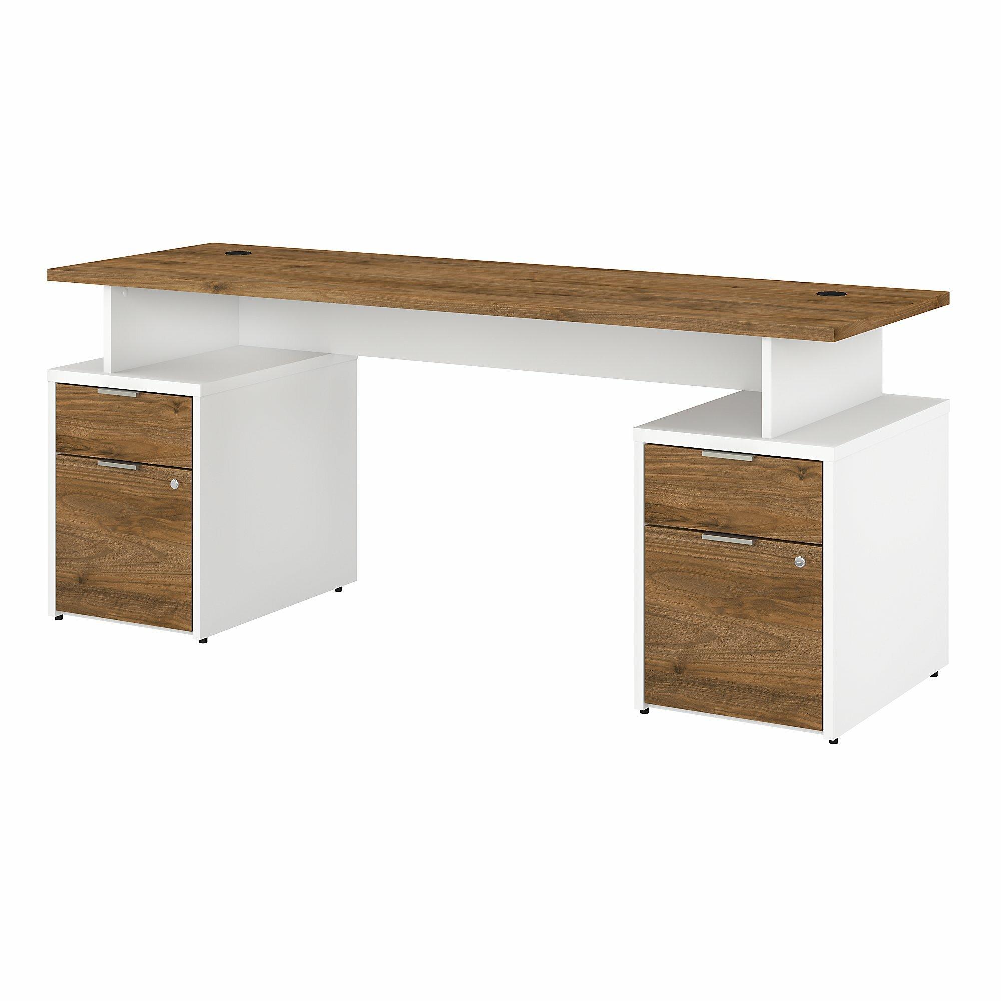 Bush Business Furniture Jamestown Desk Reviews Wayfair