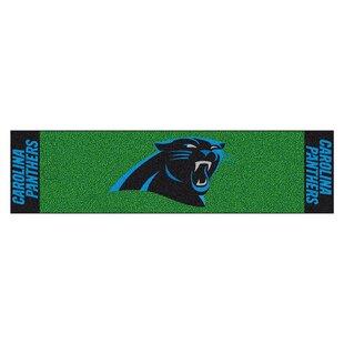 9f077d7a6 NFL Carolina Panthers Putting Green Mat