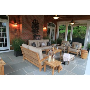 Rosecliff Heights Boyle Deep Seating Group with Sunbrella Cushions