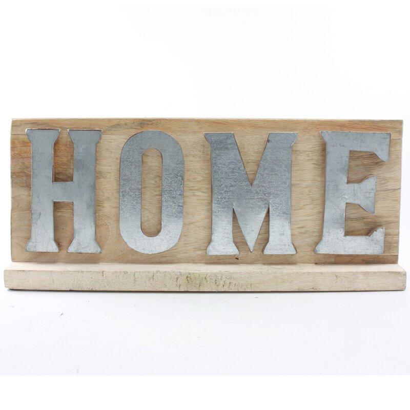 Fetco Home Decor Turpin Home Sign Wall Décor | Wayfair