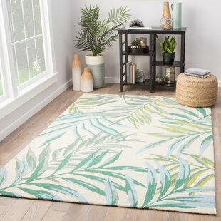 Halona Hand Hooked Indoor/Outdoor Area Rug by Bay Isle Home Read Reviews