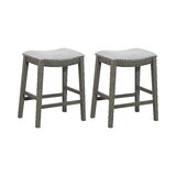 Clewiston Counter & Bar Stool (Set of 2) by Rosecliff Heights