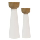 Modern Contemporary 3 Piece Candlestick Set Allmodern