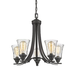 Trudy 5-Light Shaded Chandelier by Gracie Oaks