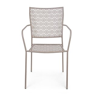 Chacon Stacking Garden Chair (Set Of 4) By World Menagerie