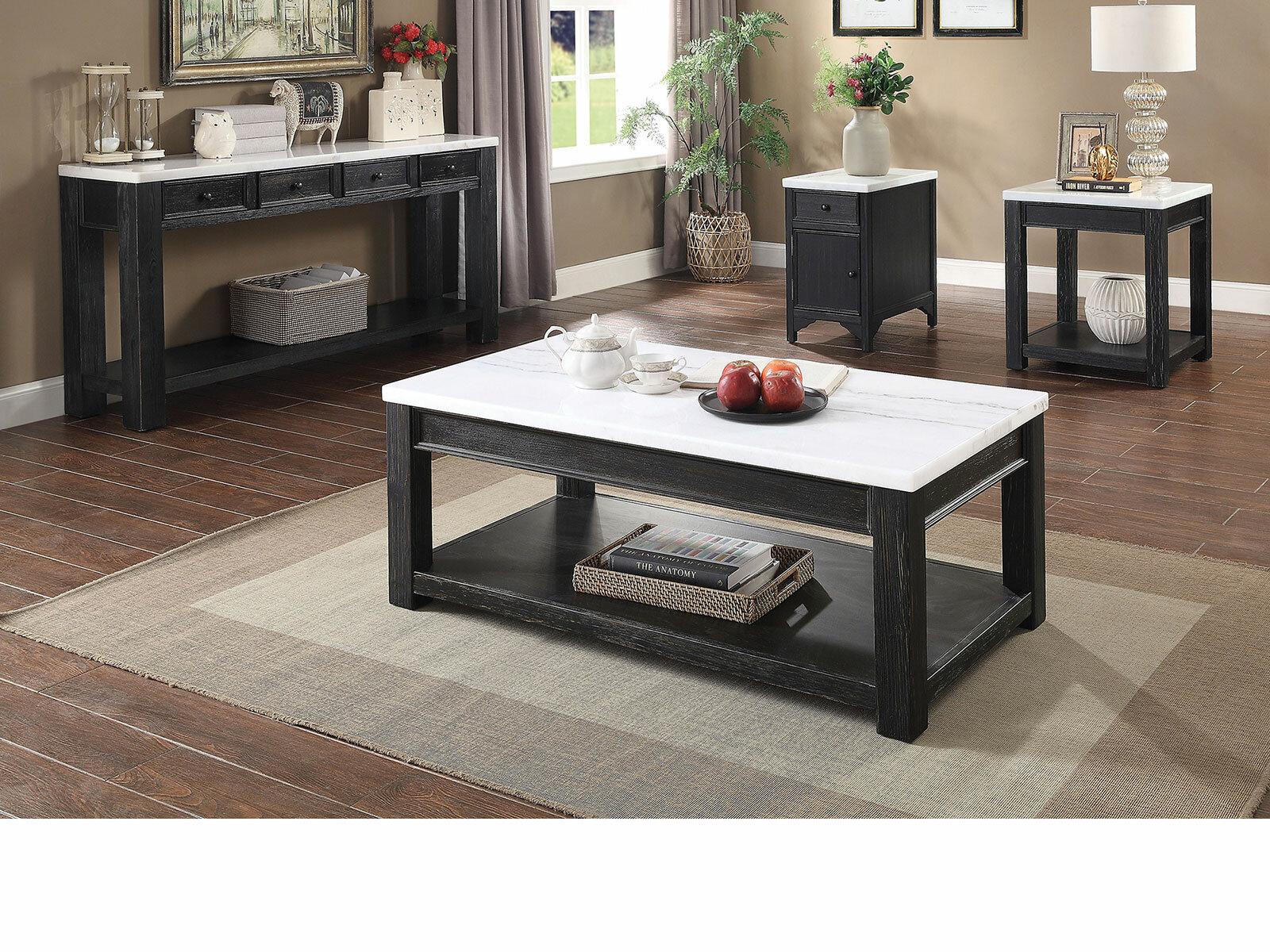 Gracie Oaks Axbridge 4 Piece Coffee Table Set Reviews