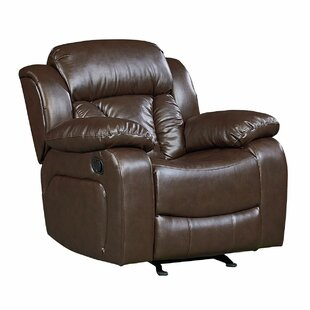 Delaney Faux Leather Rocker Recliner by Red Barrel Studio