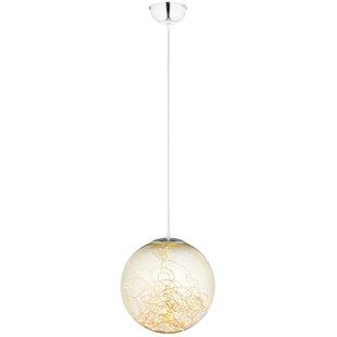 Darold 1-Light LED Globe Pendant by Wrought Studio