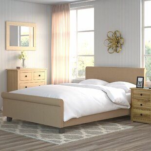 Marquardt Upholstered Sleigh Bed By ClassicLiving