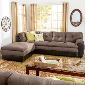 Brewster Reversible Sectional : sectional sofas microfiber - Sectionals, Sofas & Couches