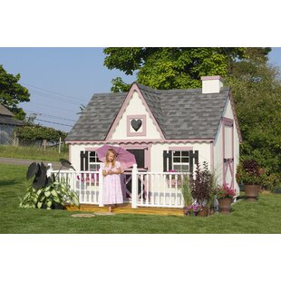 Victorian 8' Playhouse By Little Cottage Company