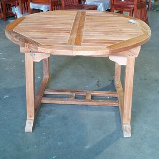 Bahama Extendable Teak Dining Table