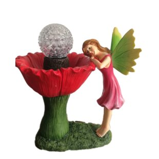 Mccomb Rotating Flower Head Bird Bath By Sol 72 Outdoor