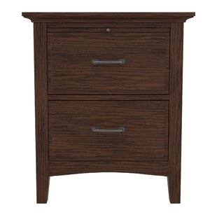 Moradian Modern 2 Drawer Nightstand