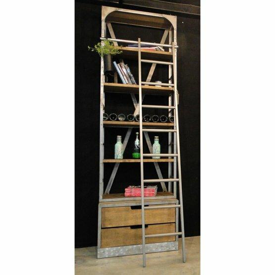 Clausen Vintage Ladder Bookcase