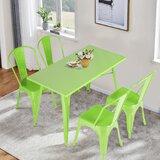 Ubalda 5 Piece Dining Set by Wrought Studio™
