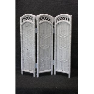 August Grove Eastep 3 Panel Room Divider