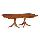 Windsor Regency Extendable Solid Wood Dining Table by Jonathan Charles Fine Furniture