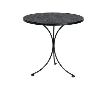 Woodard Mesh Top Wrought Iron Dining Table