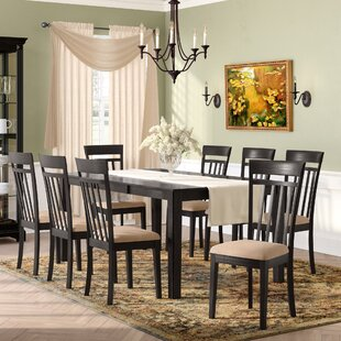 Smyrna 9 Piece Dining Set Charlton Home