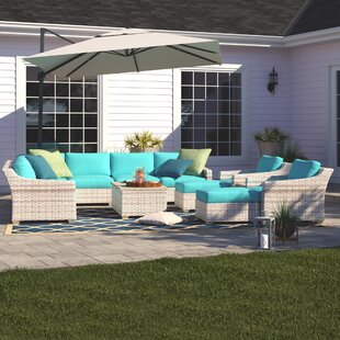 Falmouth 13 Piece Sectional Seating Group with Cushions