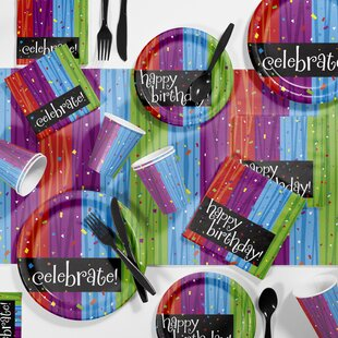 Celebrations Birthday Party Supplies Kit