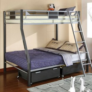 Fanning Twin over Full Bunk Bed by Harriet Bee