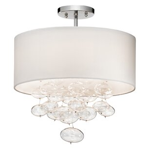 Élan Lighting Piatt™ 3-Light Semi-Flush Mount