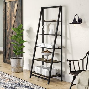 Compare prices Walcott Ladder Bookcase By Laurel Foundry Modern Farmhouse