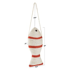 Fish Cat Toy Scratching Post