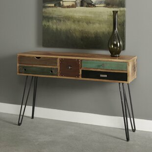 Monico 5 Drawer Console Table ByWorld Menagerie
