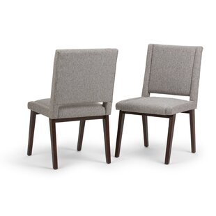Halvorson Deluxe Upholstered Dining Chair (Set of 2)