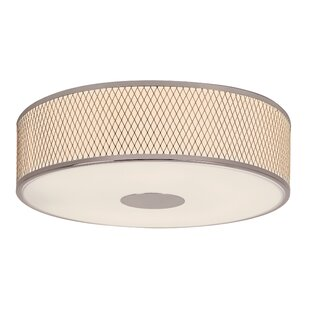 TransGlobe Lighting Diamond Grill 4-Light Semi Flush Mount