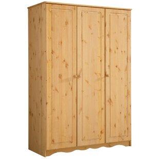Review Pinkney 3 Door Wardrobe