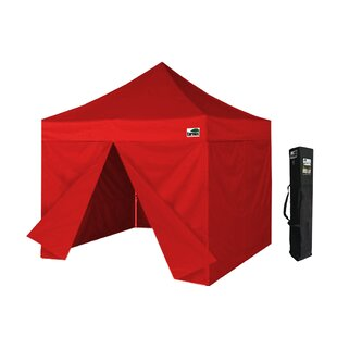 Eurmax 10 Ft. W x 10 Ft. D Steel Pop-Up Canopy