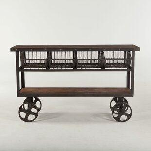 Chute Reclaimed Bar Cart b..