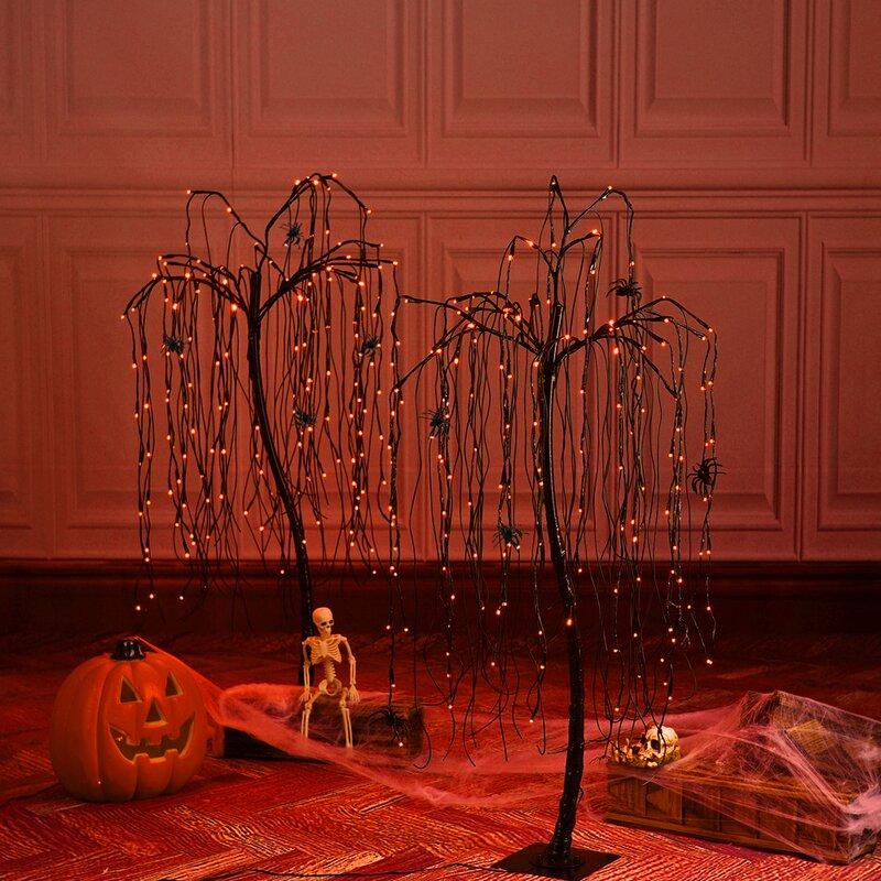 Halloween Tree 160 Light Lighted Trees