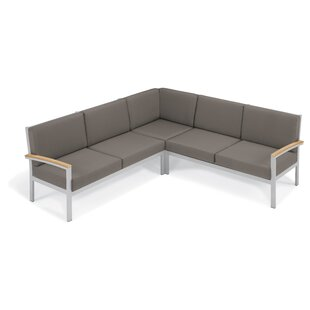 Laskowski Arm Sectional with Cushion