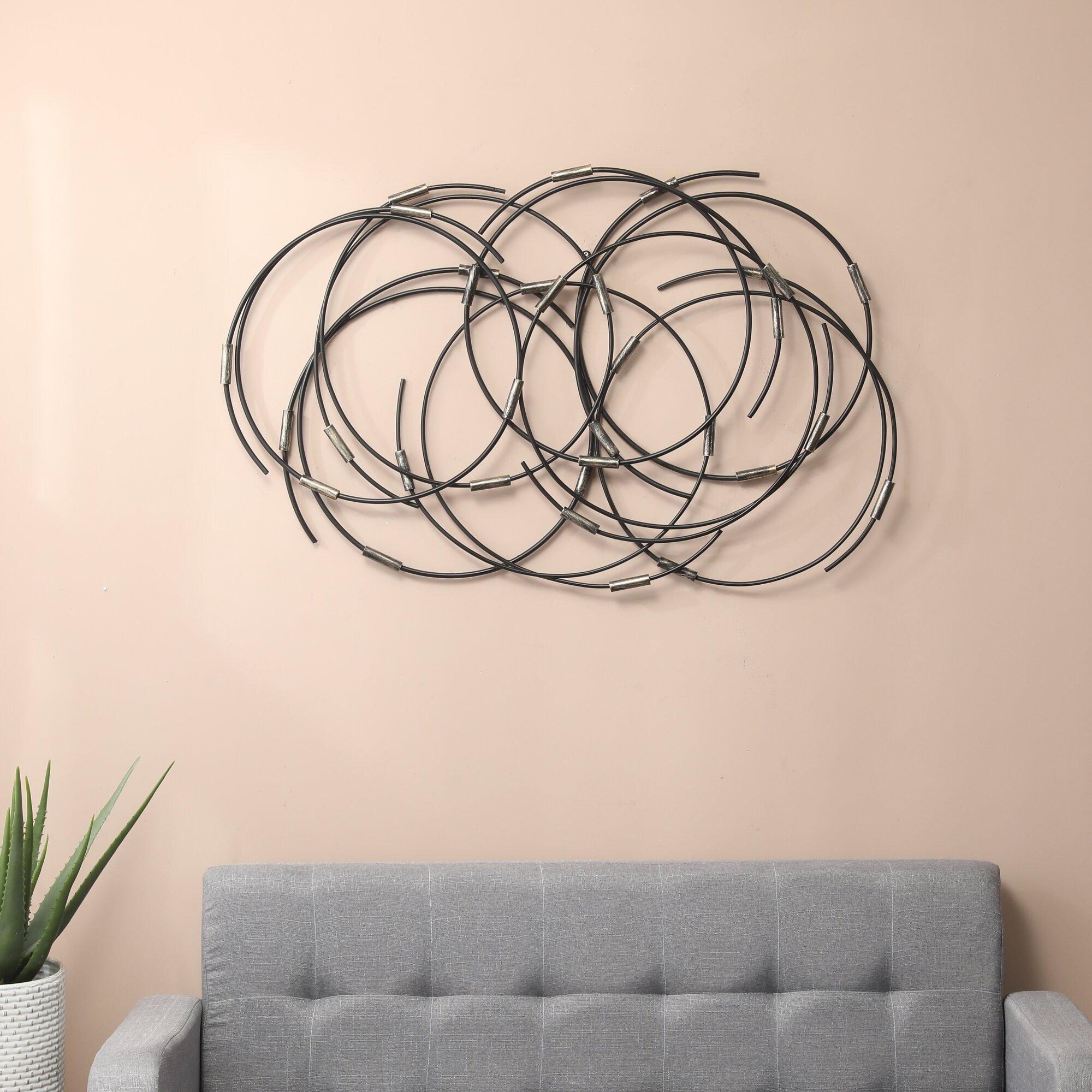 Orren Ellis Metal Circular Wall Décor