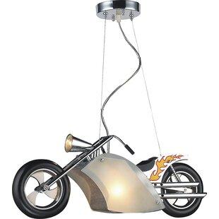 Williston Forge Metro Motorcycle 1-Light ..