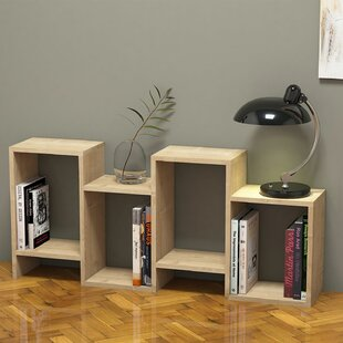 Genola Modern Geometric Bookcase by Ebern Designs Read Reviews