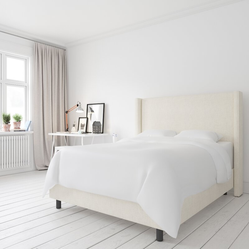 Amera Upholstered Low Profile Standard Bed Reviews Joss Main