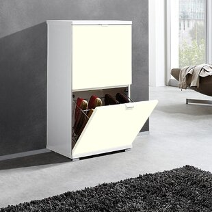 Espinoza 8 Pair Shoe Storage Cabinet By Ebern Designs