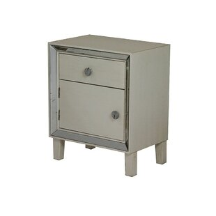 Adria 1 Door Accent Cabinet by House of Hampton