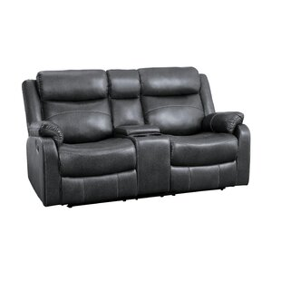Erkson Reclining Loveseat Red Barrel Studio