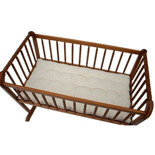 Inexpensive 36L Cotton Cradle 1.5 Crib Mattress By Wendy Anne