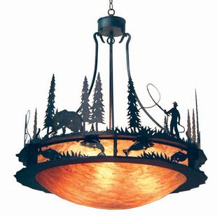 2nd Ave Design Fisherman 6-Light Bowl Pendant